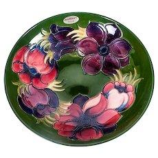 Moorcroft Anenomes Large Footed Bowl