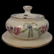 James Macintyre & Co. 18th Century Range Covered Sugar Bowl c1910