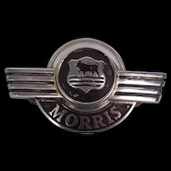 A British Morris 5 CWT Van Badge 1928-1934