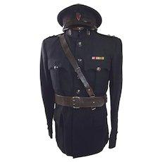 Circa WW2 Royal Ulster Constabulary District Inspector 3rd Class Ulster 'B'