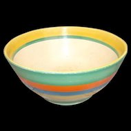Early-Mid 1930's Clarice Cliff Original Bizarre Circular Bowl