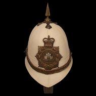 Royal Regiment Of Wales Tropical White Helmet