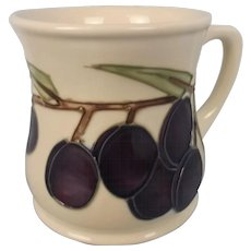 Moorcroft Floral Grape Pattern Mug #2