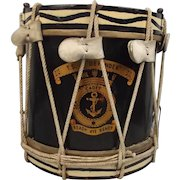 Sea Cadet Corps T.S. Defender Regimental Side Drum By Hawkes & Son