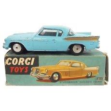 Corgi 211 Blue Studebaker Boxed 1958 – 1960