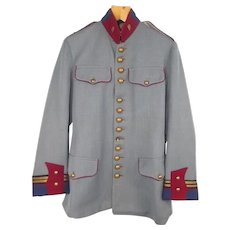 Rare WW1 French Guards Officers Horizon Blue Tunic
