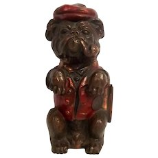1930's Ronson Art Deco Bulldog Match Striker