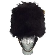 British Military Guards 20th Century Bearskin Hat