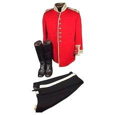 Post 1902 Yorkshire Deputy Lord Lieutenant Uniform