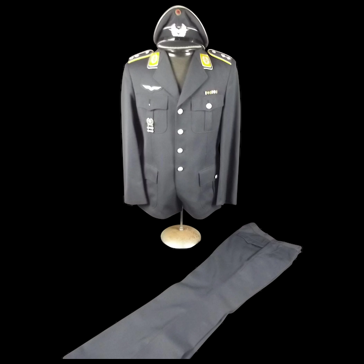 Circa 1965 Pair Of West German Luftwaffe Lieutenant Uniforms