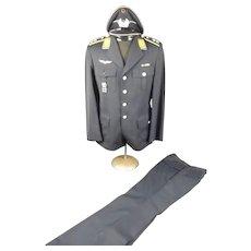 Circa 1965 Pair Of West German Luftwaffe Lieutenant Uniforms