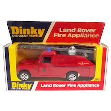 Dinky 282 Land Rover Fire Appliance (Falck)