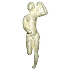 Circa 350-200 BC Greek Anthropomorphic Figurine Of The Aphrodite Of Knidos