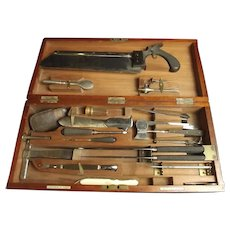 Late 19th Century Cased Named Surgeons Set