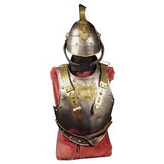 Mid To Late 19th Century Bavarian Cuirassiers Armour Set