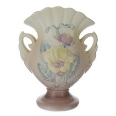 "Hull Art Pottery Magnolia Vase #12 6 1/4"""