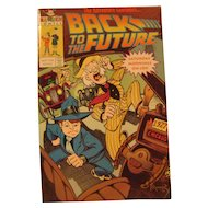 1991 Edition of 'Back to the Future' Comic Book
