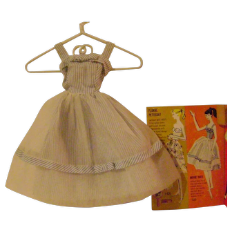 Barbie 'Movie Date' Sundress and 1962 Fashion Book