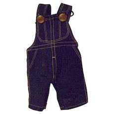 Vintage Buddy Lee Doll Overalls