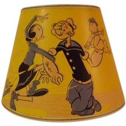 Vintage Popeye Lamp Shade