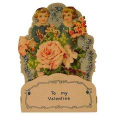 Vintage Fold Out German Valentine