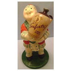 Vintage Seaforth Talc Store Display Figure