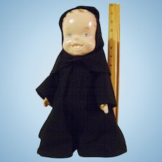 Vintage Doll in Monk Outfit