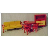 Fifties Modern Doll House Furniture