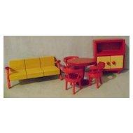 Fifties Modern Doll House Furniture