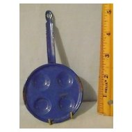 Vintage Childrens' Mini Granite Egg Skillet