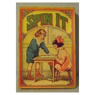 Vintage Spin It Game