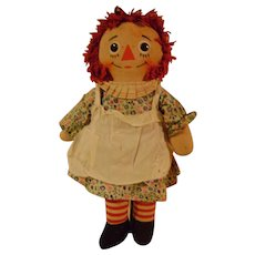 Musical Raggedy Ann Knickerbocker Doll