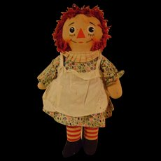 Musical Raggedy Ann Knickerbocker Doll