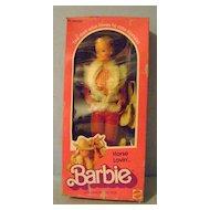 Horse Lovin' Barbie Doll In Original Box