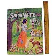 Vintage Snow White and the Seven Dwarfs Paper Dolls