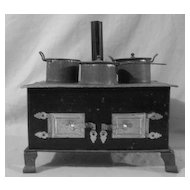 Vintage Small Toy Kitchen Stove