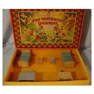 Vintage Tootsie Toy Boxed Bedroom Furniture