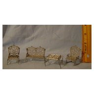 Vintage Metal Doll Furniture