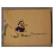 Vintage Donald Duck Photo Album
