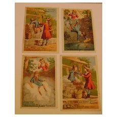 Vintage Set Acme Soap Trading Cards
