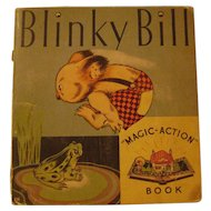 Vintage Blinky Bill Magic Action Book