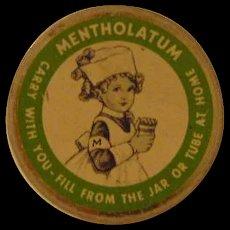 Vintage Mentholatum Tin
