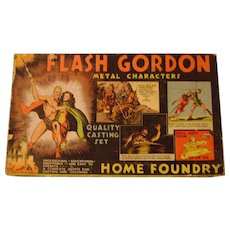 Vintage 1934 Flash Gordon Home Foundry Boxed Set