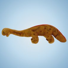 Vintage 13 inch Steiff Dinosaur