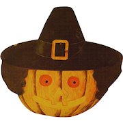 Vintage Halloween Witch Mask