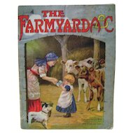 Vintage The Farmyard A B C Linen Book