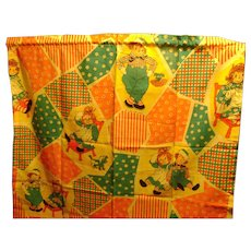 Vintage Raggedy Ann and Andy Curtains