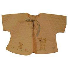 Vintage Baby Bed Jacket