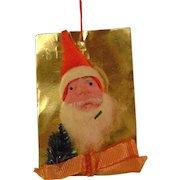 Vintage Christmas Tree Santa