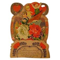 Vintage Valentine Card